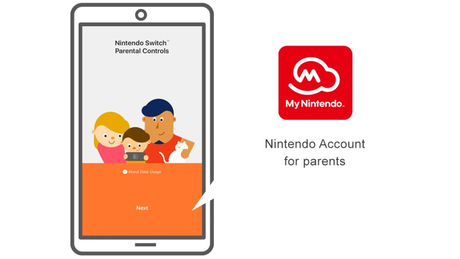 Nintendo Account for parents
