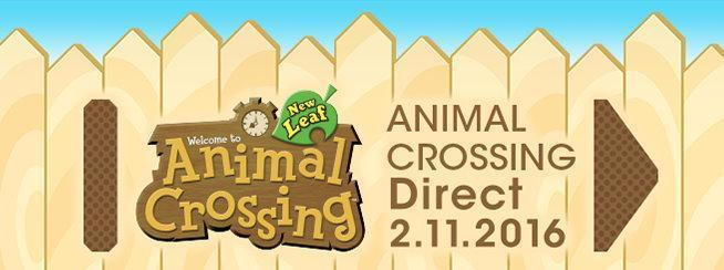 Animal Crossing Direct den 2 november