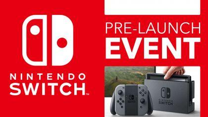 Nintendo Switch Pre-Launch Event!