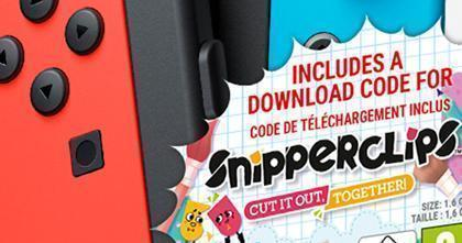 Snipperclips – Cut It Out, Together! släpps till Nintendo Switch den 3 mars!