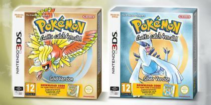 Pokémon Gold Version och Pokémon Silver Version släpps i butik 22 september