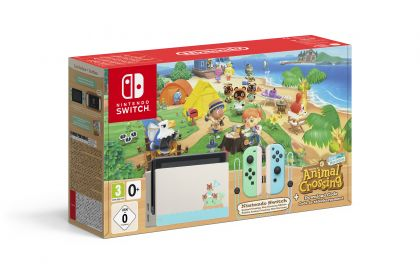 Nintendo Switch-bundle med Animal Crossing-tema släpps den 20 mars!