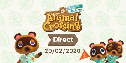 Animal Crossing: New Horizons Nintendo Direct