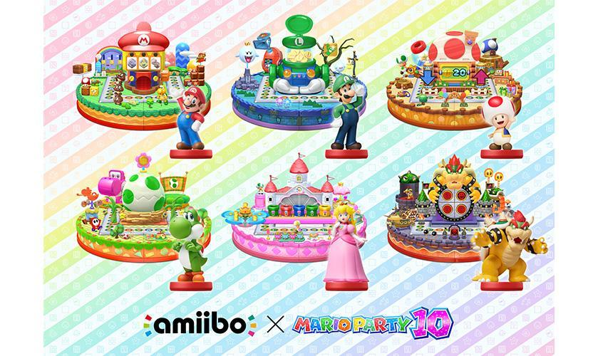 amiibo power up party