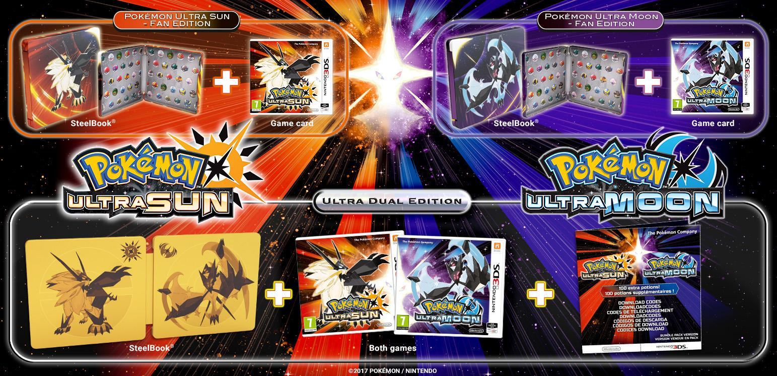 pokemon ultra special editions