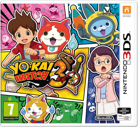 CTR YokaiWatch3 PS UKV