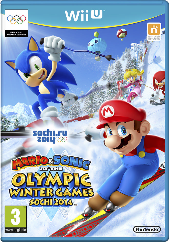 spel mario sonic at the sochi 2014 olympic winter games. Black Bedroom Furniture Sets. Home Design Ideas
