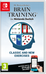 Dr Kawashima's Brain Training for Nintendo Switch